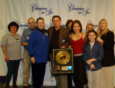 Michelle Kwan with Cassidy Family and Friends