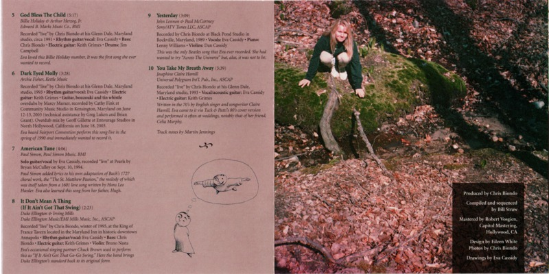 CD Booklet inside