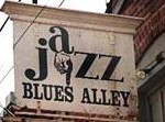 Blues Alley sign
