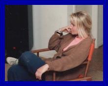 Eva sitting