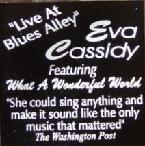 Live at Blues Alley sticker