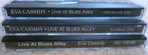 How to tell if you have an original LIVE AT BLUES ALLEY. The original issue is at the top.